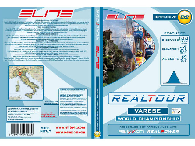 Elite DVD Varese 2008 Wordchampionships Real Axiom/Power/Tour